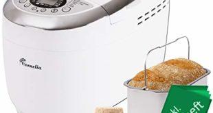 tzs first austria brotbackautomat mit rezeptheft 1250g 12 automatik programmen 2 knethaken teig programm marmelade programm glutenfrei programm braeunungsgrad start verzoegerungs funktion 310x165 - TZS First Austria - Brotbackautomat mit Rezeptheft, 1250g, 12 Automatik-Programmen, 2 Knethaken, Teig-Programm, Marmelade-Programm, Glutenfrei-Programm, Bräunungsgrad, Start-Verzögerungs-Funktion