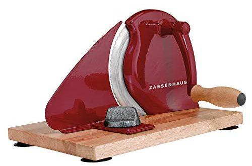 Zassenhaus KP0000072075 Classic Brotschneidemaschine, 18/8 Edelstahl